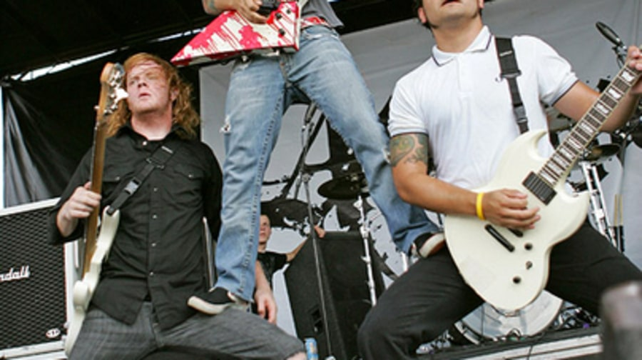Atreyu 4 - Warped Tour, Noblesville, IN 7/20/05 large