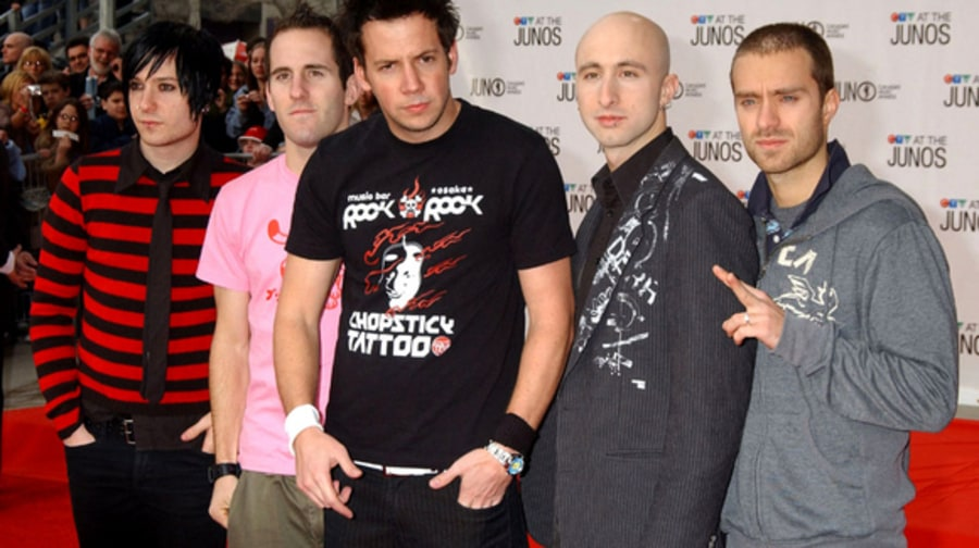 Simple Plan 3 - 34th Annual Juno Awards 4/3/05 large