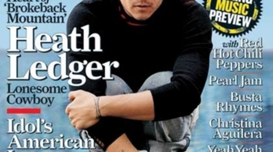 Heath Ledger - RS 996 (March 23, 2006)