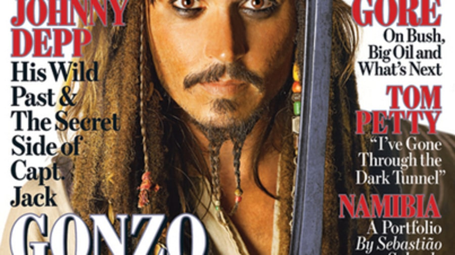 Johnny Depp - RS 1004-1005 (July 13 - July 27, 2006)