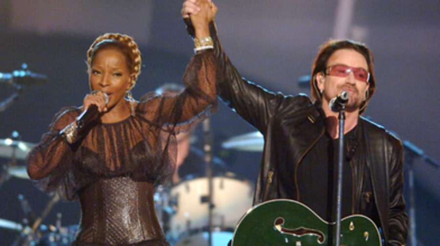 Bono and Mary J. Blige - 48th Annual Grammy Awards 2/8/06