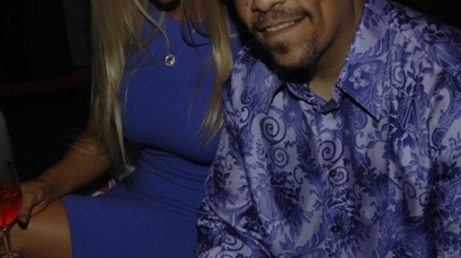 RS 1000 party - Ice-T and wife Coco - New York, NY 5/4/06