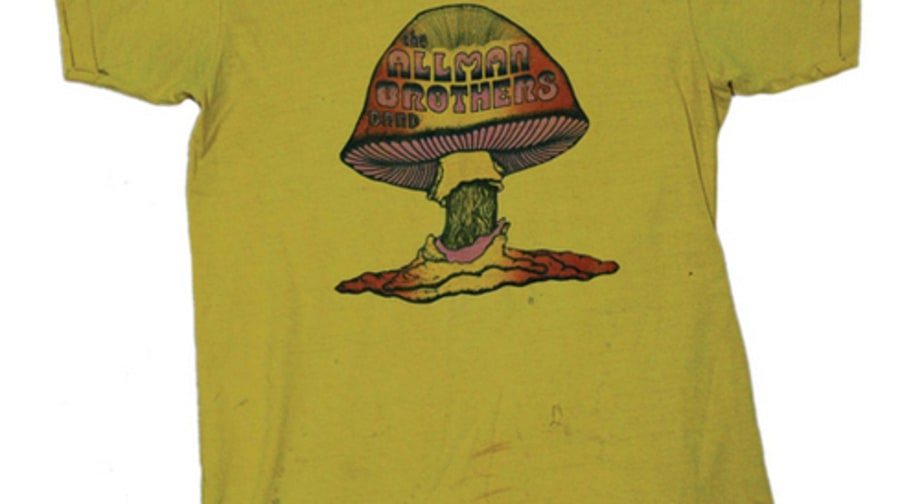 Art of the Band T-Shirt: Allman Brothers Band, 1973