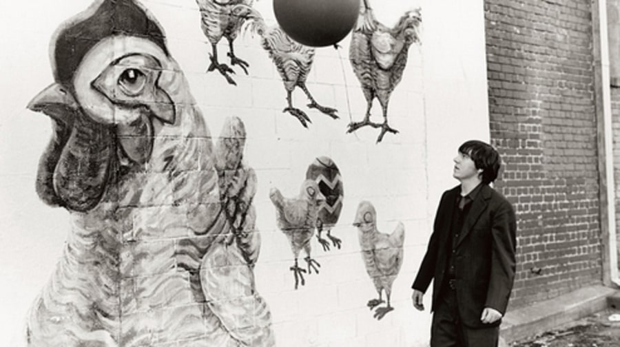 Elliott smith book chicken mural elliott smith for Elliott smith mural
