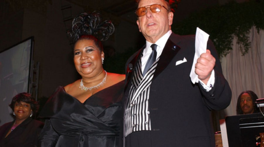 Clive Gallery: Clive and Aretha - Feb 22, 2003