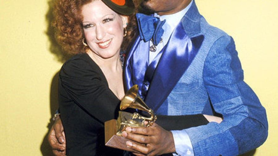 1975 (Bette Midler and Stevie Wonder)