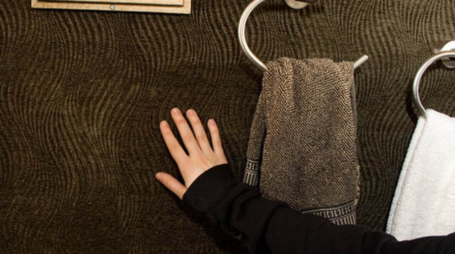 Tegan Sara Bus TOur: Bathroom Wall