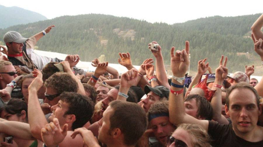 Pemberton 2008: Day 1 - Crowd