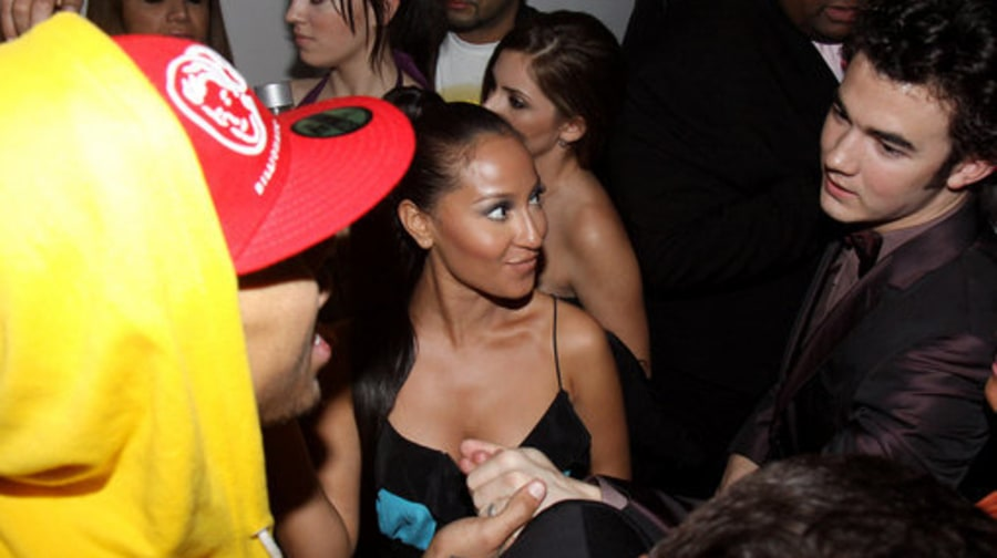 Rihanna and Chris Brown Grammy Weekend: 02/06/2009: Timbaland Grammy Party