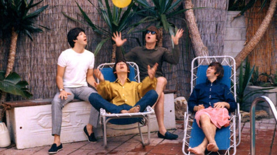 The British are Coming: Beatle Poolside