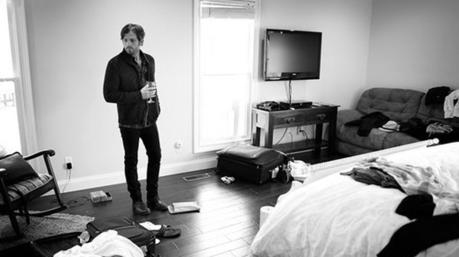 Caleb Followill In His Bedroom