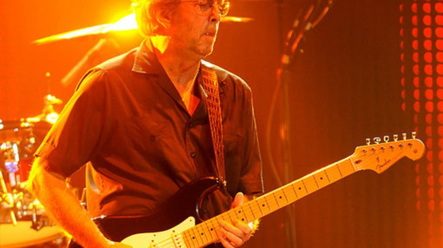 Clapton and Winwood: Eric Clapton