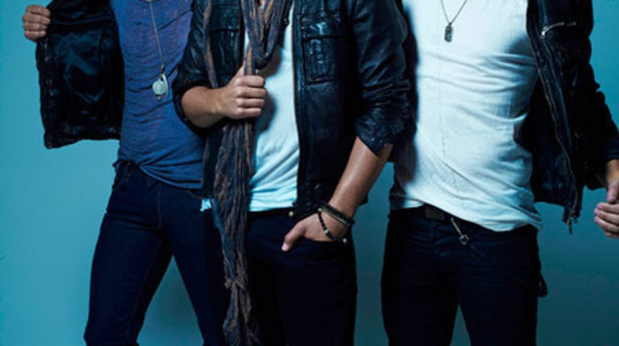 1082/83 Cover Shoot: Jonas Brothers: EXCLUSIVE: Group Shot in leather