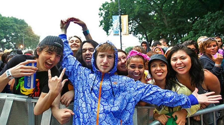Lollapalooza Backstage: Asher roth 8/7