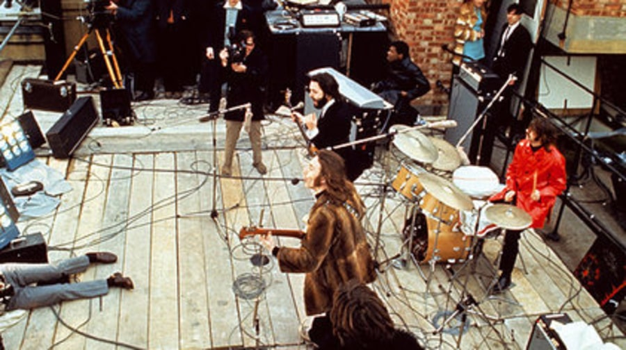 The Beatle in RS: 7: get back roof