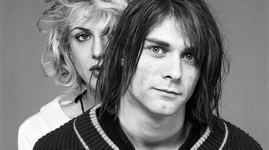 Kurt Cobain and Courtney Love, 1992