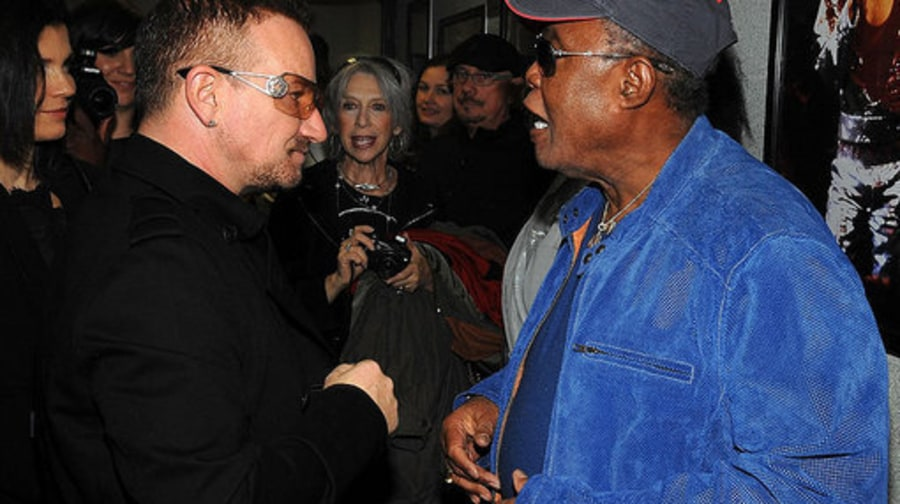 Rock Hall 25 Backstage 2: Bono and Sam Moore