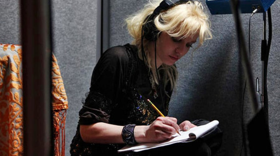 Courtney Love In the Studio: FILE 10: Courtney writing