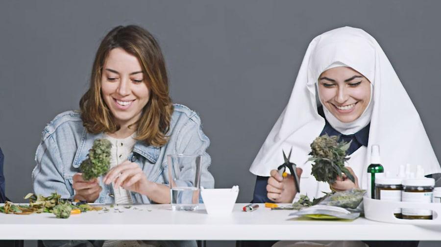 Watch Aubrey Plaza Get High, Talk Spirituality With Weed Nuns
