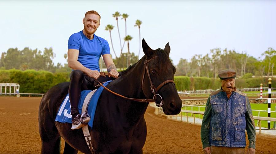 Watch Conor McGregor's Hilarious New Training Regimen