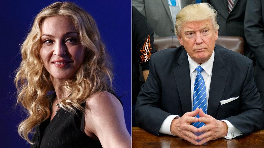 Donald Trump vs. Madonna: Everything We Know