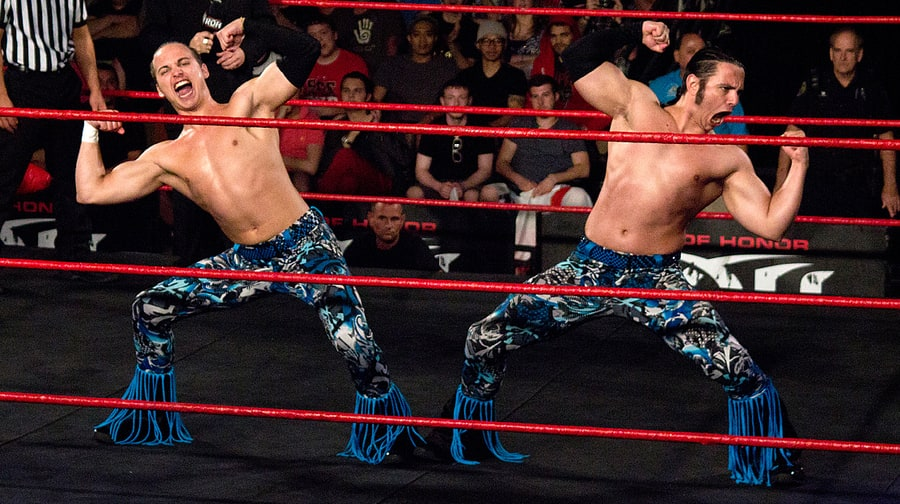 The Young Bucks on Bullet Club T-Shirts, WWE Rivalry, DIY Wrestling