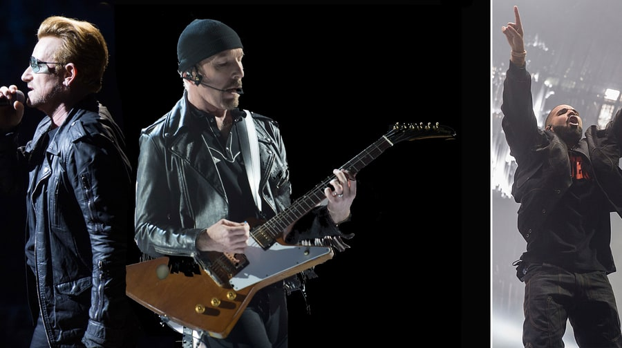 U2, Drake, Sting to Headline iHeartRadio Music Festival
