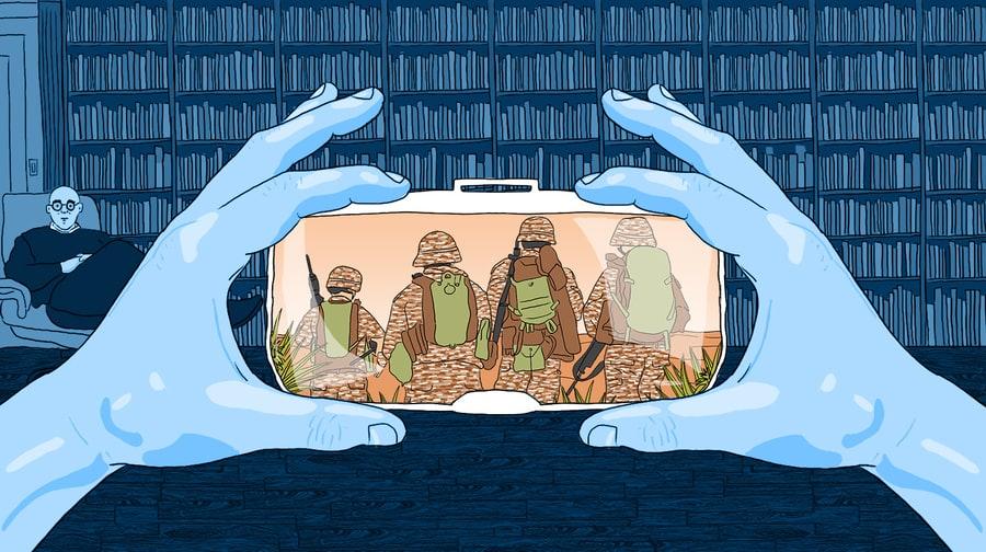 Can Virtual Reality Help Cure PTSD?