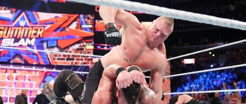'WWE SummerSlam': Brock Lesnar Isn't Going Anywhere
