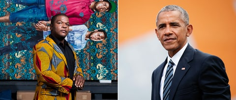 Barack Obama Taps Kehinde Wiley for Official Presidential Portrait