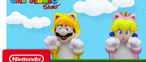 Daily Glixel: Hidden Cat Marios Are S-cat-tered Throughout 'Super Mario Odyssey'