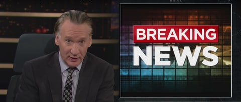 Bill Maher to Media: 'You Have to Win Your Respect Back'