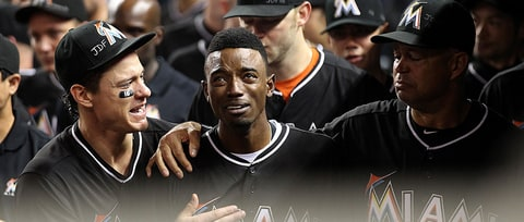 See Dee Gordon's Emotional Home Run After Jose Fernandez Tribute