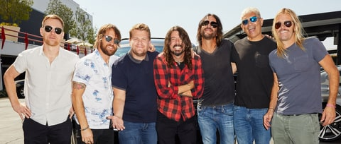 Watch Foo Fighters' Drum-Off With James Corden on 'Carpool Karaoke'