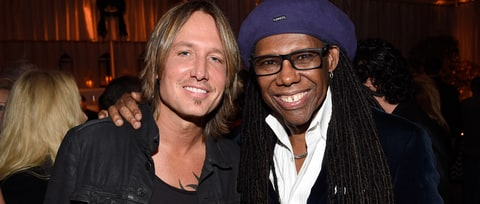 See Keith Urban, Nile Rodgers Surprise L.A. Audience With Funky 'Sun'