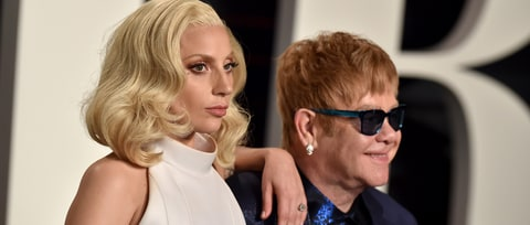 See Lady Gaga, Stevie Wonder Sing 'Happy Birthday' to Elton John