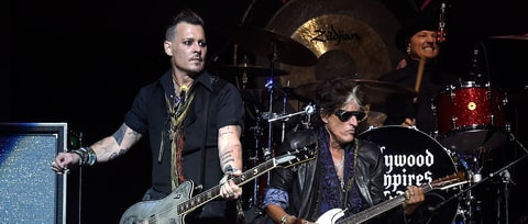 Watch Joe Perry's Return to Hollywood Vampires