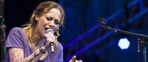 Hear Fiona Apple's Scathing Anti-Trump Chant for Women's March