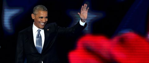 Obama's DNC Speech: His Last Wink Out the Door