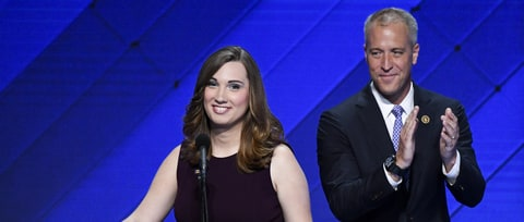 Watch Trans Activist Sarah McBride Make History on the DNC Stage