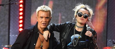 See Miley Cyrus Join Billy Idol for 'Rebel Yell' at iHeartRadio Fest