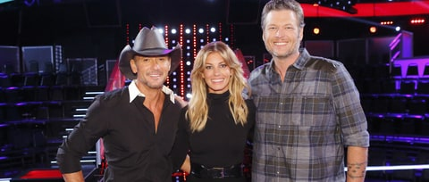 See a Humorous Sneak Preview of Faith Hill, Tim McGraw on 'The Voice'