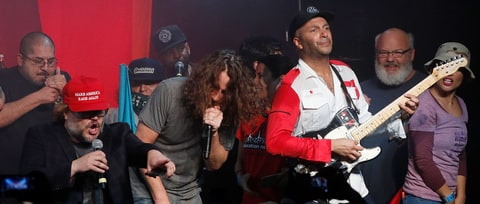 Reunited Audioslave, Prophets of Rage Explode at Anti-Inaugural Ball