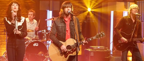 See Old 97's, Nikki Lane's Stormy 'Good With God' on 'Seth Meyers'