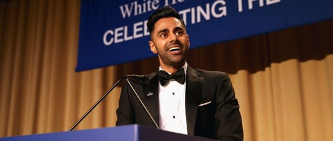 Watch Hasan Minhaj's Takedown of No-Show Trump at Correspondents' Dinner