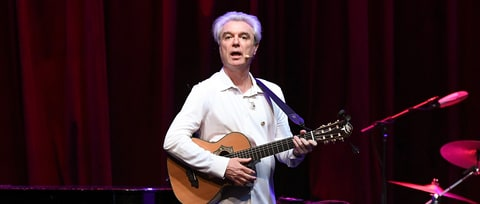 David Byrne Plots 2018 Tour