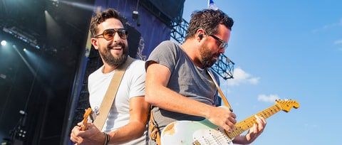 Old Dominion Debut 'Happy Endings' at Sweaty Live Show