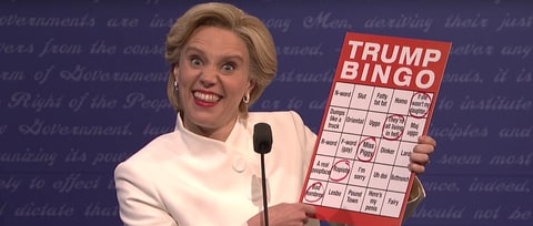 See 'SNL' Mock Trump's 'Bad Hombres,' 'Nasty Woman' in Third Debate Sketch