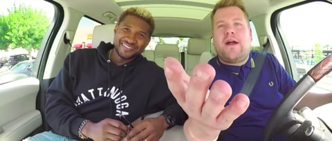 Watch Usher Teach James Corden Club Dance Moves on 'Carpool Karaoke'