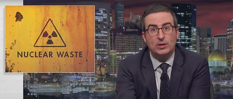 Watch John Oliver Explain Why America Is Overdue for a 'Nuclear Toilet'